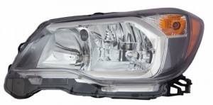 2014 - 2016 Subaru Forester Front Headlight Assembly Replacement Housing / Lens / Cover - Left (Driver) Side - (2.0L H4)