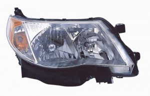 2009 -  2013 Subaru Forester Front Headlight Assembly Replacement Housing / Lens / Cover - Right (Passenger) Side
