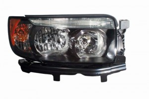 2007 -  2008 Subaru Forester Front Headlight Assembly Replacement Housing / Lens / Cover - Right (Passenger) Side - (Sports 2.5 X + Sports 2.5 XT)