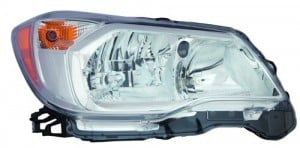 2014 -  2016 Subaru Forester Front Headlight Assembly Replacement Housing / Lens / Cover - Right (Passenger) Side - (2.5L H4)