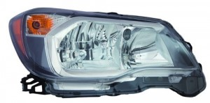 2014 -  2016 Subaru Forester Front Headlight Assembly Replacement Housing / Lens / Cover - Right (Passenger) Side - (2.0L H4)