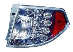 2008 -  2014 Subaru Impreza Rear Tail Light Assembly Replacement / Lens / Cover - Right (Passenger) Side Outer - (Wagon + WRX + WRX Limited + WRX Premium + WRX STI + WRX STI Limited + WRX STI Special Edition)