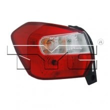 2012 -  2016 Subaru Impreza Rear Tail Light Assembly Replacement Housing / Lens / Cover - Left (Driver) Side - (Wagon)