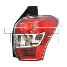 2014 - 2016 Subaru Forester Rear Tail Light Assembly Replacement Housing / Lens / Cover - Right (Passenger) Side