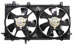 New Radiator Fan Assembly Dual Type For 2004-2008 Subaru Forester With Turbo SU3115109 45131SA000