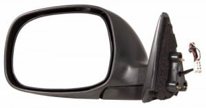 2003 -  2004 Toyota Tundra Side View Mirror Assembly / Cover / Glass Replacement - Left (Driver) Side - (Limited 4 Door; Extended Cab Pickup)
