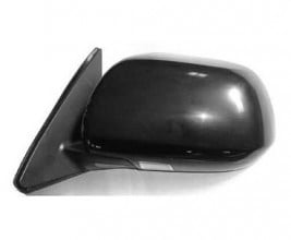 2008 -  2010 Toyota Highlander Side View Mirror Assembly / Cover / Glass Replacement - Left (Driver) Side - (Base Model + Sport)