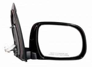 2004 -  2010 Toyota Sienna Side View Mirror Assembly / Cover / Glass Replacement - Right (Passenger) Side
