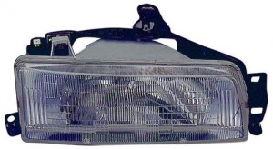 1988 -  1992 Toyota Corolla Front Headlight Assembly Replacement Housing / Lens / Cover - Left (Driver) Side - (4 Door; Sedan + 5 Door; Wagon + 4 Door; Wagon)