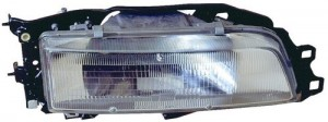 1987 -  1991 Toyota Camry Front Headlight Assembly Replacement Housing / Lens / Cover - Left (Driver) Side