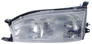 1992 -  1994 Toyota Camry Front Headlight Assembly Replacement Housing / Lens / Cover - Left (Driver) Side