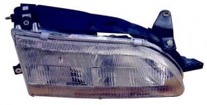 1993 - 1997 Toyota Corolla Front Headlight Assembly Replacement Housing / Lens / Cover - Left (Driver) Side