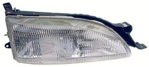 1995 -  1996 Toyota Camry Front Headlight Assembly Replacement Housing / Lens / Cover - Left (Driver) Side