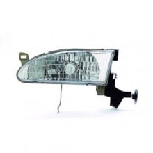 1998 -  2000 Toyota Corolla Front Headlight Assembly Replacement Housing / Lens / Cover - Left (Driver) Side
