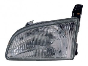 1998 - 2000 Toyota Sienna Front Headlight Assembly Replacement Housing / Lens / Cover - Left (Driver) Side
