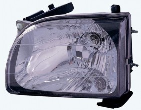 2001 - 2004 Toyota Tacoma Front Headlight Assembly Replacement Housing / Lens / Cover - Left (Driver) Side