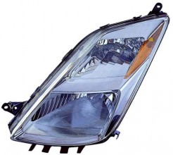 2004 -  2005 Toyota Prius Front Headlight Assembly Replacement Housing / Lens / Cover - Left (Driver) Side