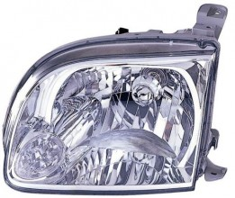 2005 -  2006 Toyota Tundra Front Headlight Assembly Replacement Housing / Lens / Cover - Left (Driver) Side - (Standard Cab Pickup + Extended Cab Pickup)