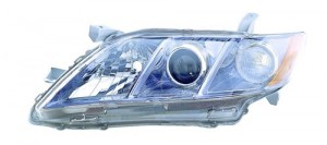 2007 -  2009 Toyota Camry Front Headlight Assembly Replacement Housing / Lens / Cover - Left (Driver) Side - (Gas Hybrid)