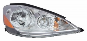 2006 - 2010 Toyota Sienna Front Headlight Assembly Replacement Housing / Lens / Cover - Left (Driver) Side