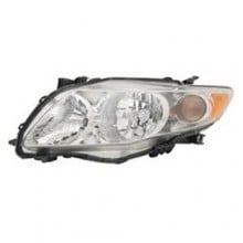 2009 -  2010 Toyota Corolla Front Headlight Assembly Replacement Housing / Lens / Cover - Left (Driver) Side - (Base Model + CE + LE)