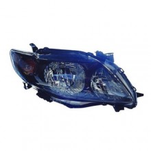 2009 -  2010 Toyota Corolla Front Headlight Assembly Replacement Housing / Lens / Cover - Left (Driver) Side - (S + XRS)