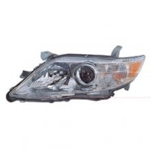 2010 -  2011 Toyota Camry Front Headlight Assembly Replacement Housing / Lens / Cover - Left (Driver) Side - (LE + SE + XLE)