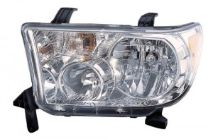 2009 -  2013 Toyota Tundra Front Headlight Assembly Replacement Housing / Lens / Cover - Left (Driver) Side