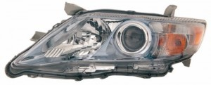2010 -  2011 Toyota Camry Front Headlight Assembly Replacement Housing / Lens / Cover - Left (Driver) Side - (Gas Hybrid + Hybrid Gas Hybrid)
