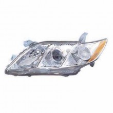 2007 - 2009 Toyota Camry Front Headlight Assembly Replacement Housing / Lens / Cover - Left (Driver) Side - (Base Model + CE + LE + SE + XLE)