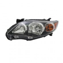 2011 -  2013 Toyota Corolla Front Headlight Assembly Replacement Housing / Lens / Cover - Left (Driver) Side - (S)