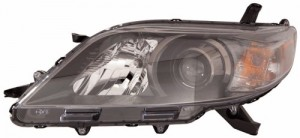 2011 - 2014 Toyota Sienna Front Headlight Assembly Replacement Housing / Lens / Cover - Left (Driver) Side - (SE)