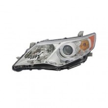 2012 -  2014 Toyota Camry Front Headlight Assembly Replacement Housing / Lens / Cover - Left (Driver) Side - (Gas Hybrid + Hybrid LE + Hybrid XLE + L + LE + XLE)