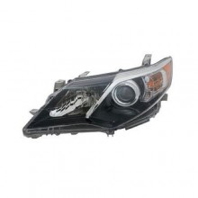 2012 -  2014 Toyota Camry Front Headlight Assembly Replacement Housing / Lens / Cover - Left (Driver) Side - (SE + SE Sport)