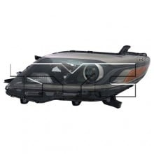 2015 - 2019 Toyota Sienna Front Headlight Assembly Replacement Housing / Lens / Cover - Left (Driver) Side - (SE)