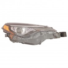 2017 - 2019 Toyota Corolla Headlight Assembly - Left (Driver) (CAPA Certified)