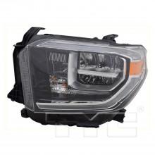 2018 - 2020 Toyota Tundra Headlight Assembly - Left (Driver)