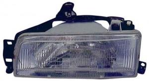 1988 -  1992 Toyota Corolla Front Headlight Assembly Replacement Housing / Lens / Cover - Right (Passenger) Side - (4 Door; Sedan + 5 Door; Wagon + 4 Door; Wagon)