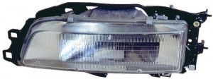 1987 - 1991 Toyota Camry Front Headlight Assembly Replacement Housing / Lens / Cover - Right (Passenger) Side