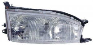 1992 1994 Toyota Camry Front Headlight Embly Replacement Housing Lens Cover Right Penger Side