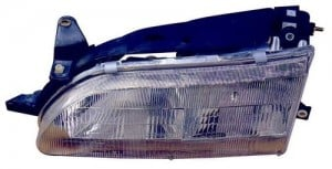 1993 - 1997 Toyota Corolla Front Headlight Assembly Replacement Housing / Lens / Cover - Right (Passenger) Side
