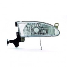 1998 - 2000 Toyota Corolla Front Headlight Assembly Replacement Housing / Lens / Cover - Right (Passenger) Side