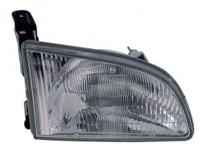 1998 - 2000 Toyota Sienna Front Headlight Assembly Replacement Housing / Lens / Cover - Right (Passenger) Side