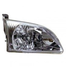 2001 - 2003 Toyota Sienna Front Headlight Assembly Replacement Housing / Lens / Cover - Right (Passenger) Side