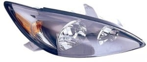 2002 -  2004 Toyota Camry Front Headlight Assembly Replacement Housing / Lens / Cover - Right (Passenger) Side - (SE)