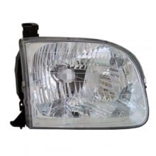 2001 - 2004 Toyota Tundra Front Headlight Assembly Replacement Housing / Lens / Cover - Right (Passenger) Side - (Crew Cab Pickup)