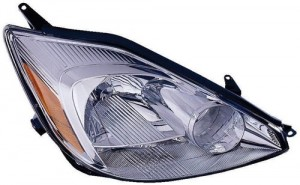 2004 - 2005 Toyota Sienna Front Headlight Assembly Replacement Housing / Lens / Cover - Right (Passenger) Side