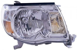 2005 -  2011 Toyota Tacoma Front Headlight Assembly Replacement Housing / Lens / Cover - Right (Passenger) Side