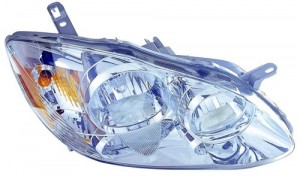 2005 - 2008 Toyota Corolla Front Headlight Assembly Replacement Housing / Lens / Cover - Right (Passenger) Side - (CE + LE)