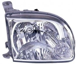 2005 - 2006 Toyota Tundra Front Headlight Assembly Replacement Housing / Lens / Cover - Right (Passenger) Side - (Standard Cab Pickup + Extended Cab Pickup)